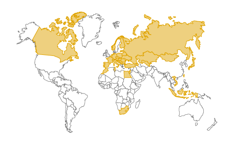 Trademark rights countries